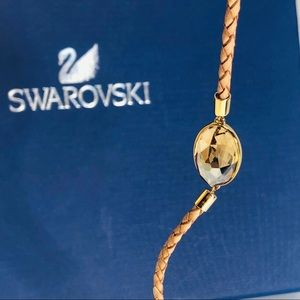 Swarovski Tan color adjustable Bracelet